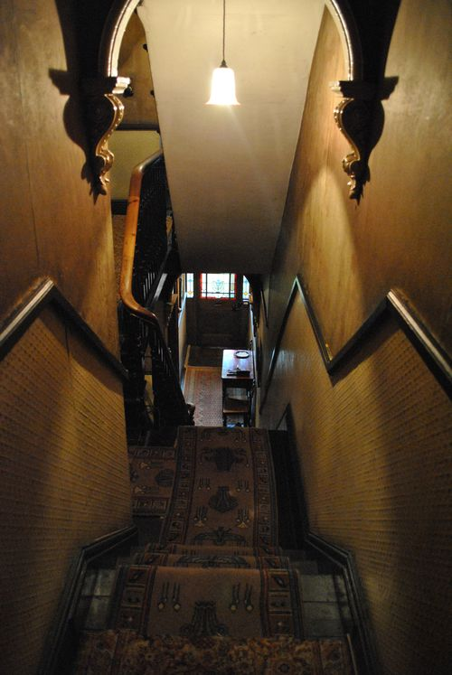 Mr Straw's house, carpet
