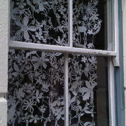 papercut curtain