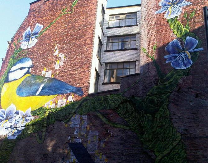 Street art, Manchester