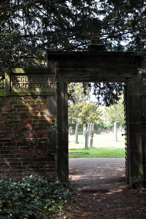 Back gate to Sudbury Church