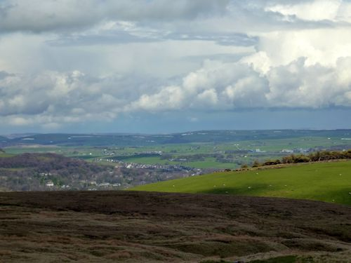 Buxton from Cat and Fiddle Road