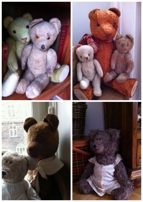 Tiny few of Denice's bears
