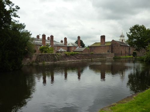 Dunham Massey, side view