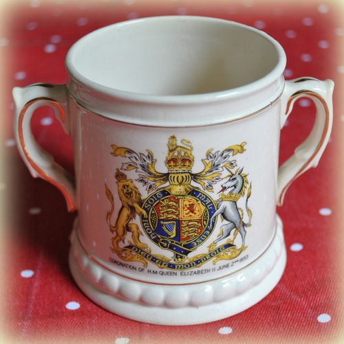 Burleigh Coronation loving cup