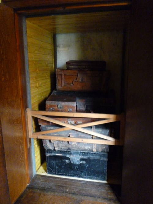 Luggage lift, must have been a backbreaker of a job before this