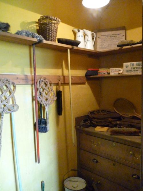 Housemaid's cupboard, top floor