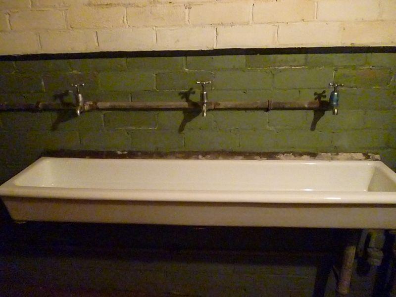 communal sinks