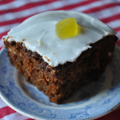ginger tray cake