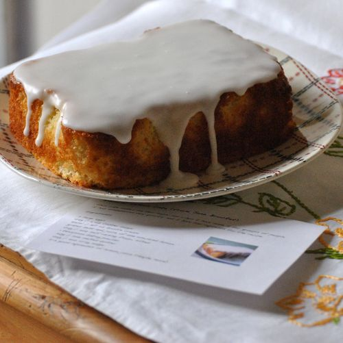 lemon cake from Gentle Art of Domesticity