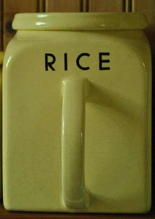 Bristol rice jar