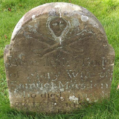 gravestone, 1735