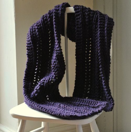 Sirdar big softie scarf