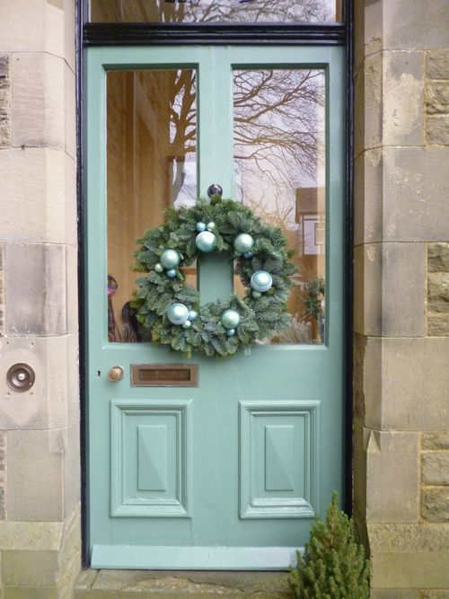 door wreath 2012