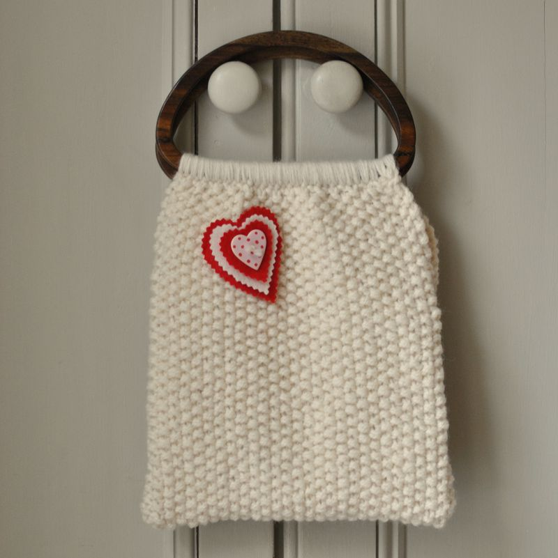 Chanel-style bag from The Gentle Art of Knitting