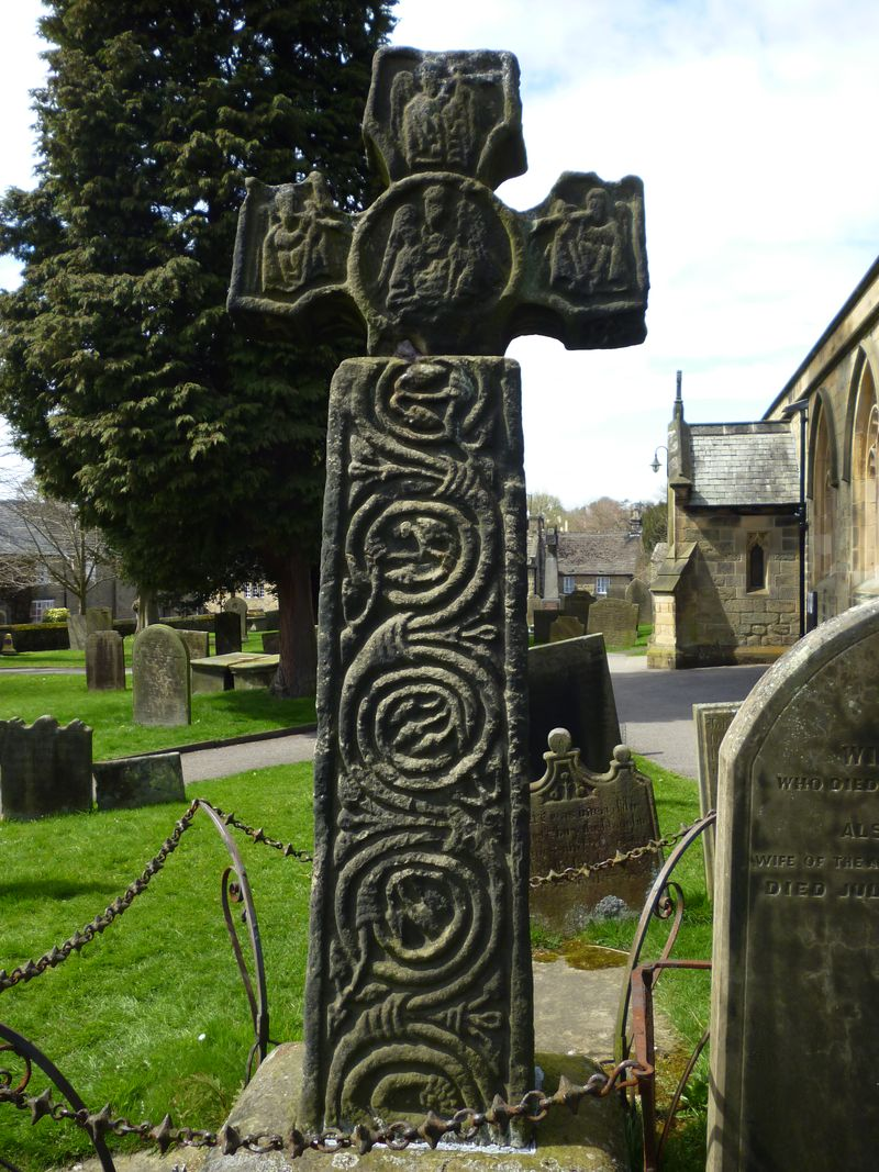 8th century Celtic cross
