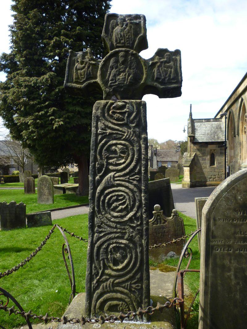 8th century Celtic cross