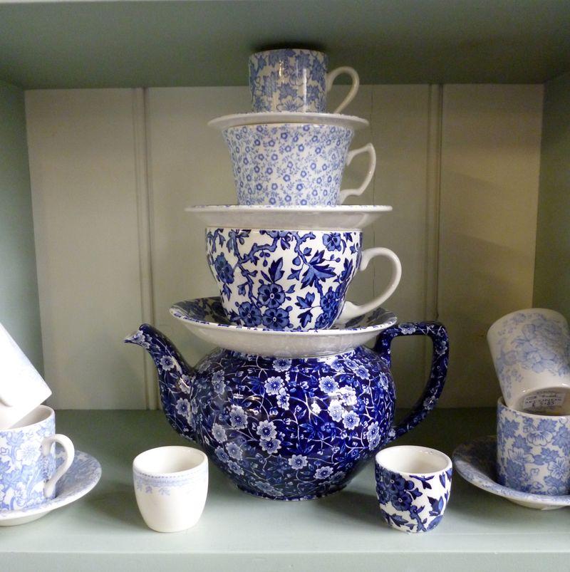 Burgess and Leigh teapot