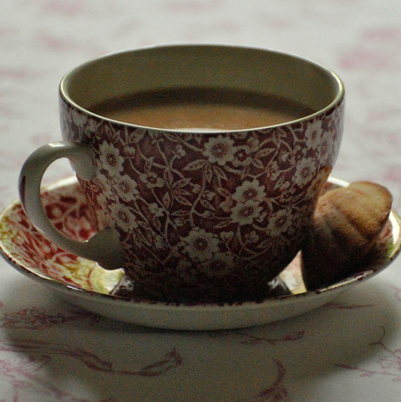 Burleigh cup with madeleine